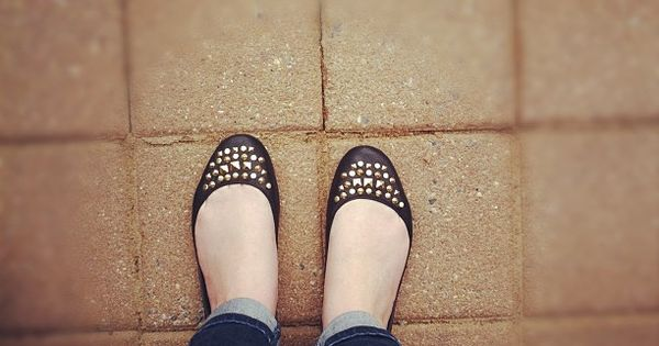 These studded flats would be a great example to build a model's