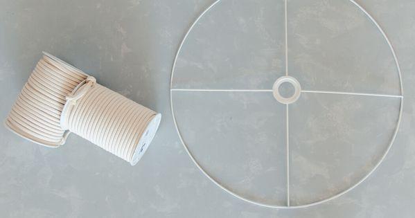 DIY MAKRAMEE LAMPE SELBER MACHEN – IKEA HACK MIT