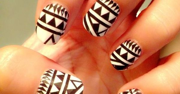 Tribal Black and White
