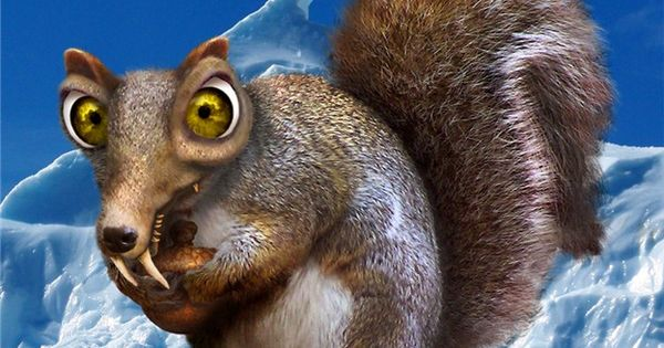 Scrat Ice Age Is This Real Life Pinterest Ice Age