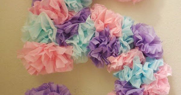 Creative tissue paper crafts for kids and adults best for Paper crafts for adults