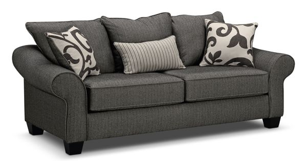 Colette Upholstery Sofa Value City Furniture Love