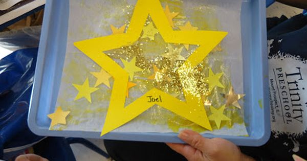 Trinity Preschool Mount Prospect Star Art For Twinkle