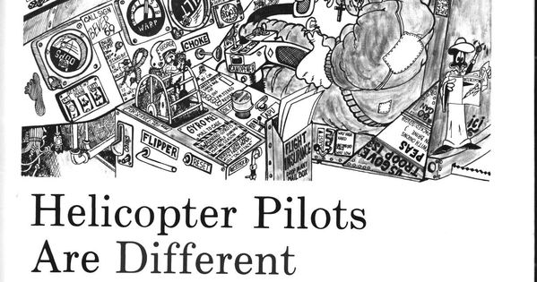 Helicopter Pilot Cartoon Having A Laugh Serious Lessons