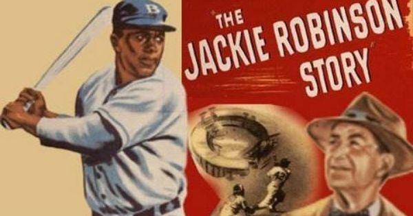 Jackie Robinson breaks color barrier