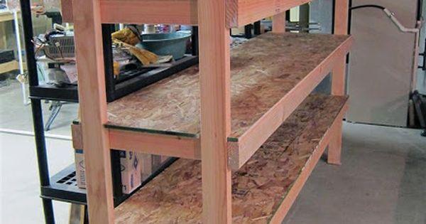 storage shelves for garage plans | easy wood shelf design ...