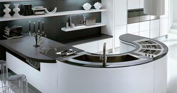 unique curved kitchen island benches with curved double curved island ideas pictures remodel and decor