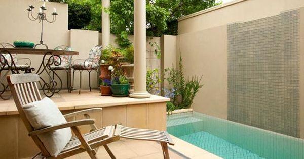 Piscina pequena tudo dimais pequenas piscinas for Piletas en patios reducidos