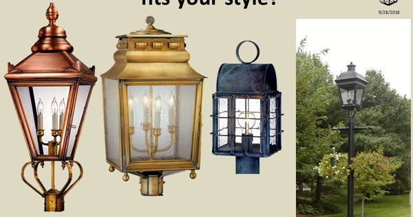 There Is A Design Post Lantern To Fit Everyone S Style Post