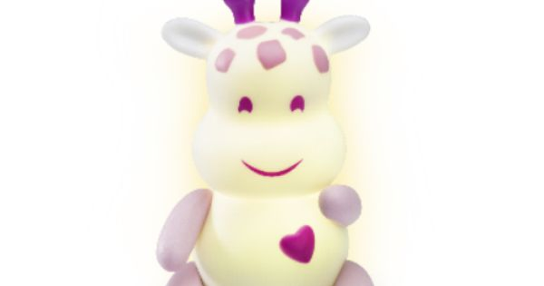 Pabobo Lumilove Giraffe Cordless Baby Night Light (£25.95 ...