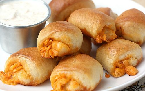 Buffalo Chicken Bites recipe by Tracey's Culinary Adventures. Tasty, easy appetizer !