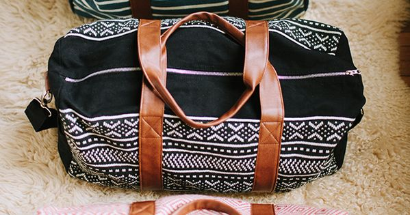 Perfect weekend bag or overnight bag !