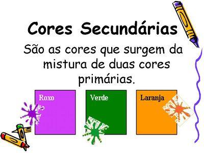 Artes Cores Primarias Secundarias E Terciarias Com Imagens