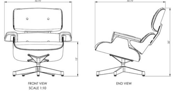 The library lounge chair dimensions compare to the herman miller eames lounge chair free white - Library lounge chairs ...