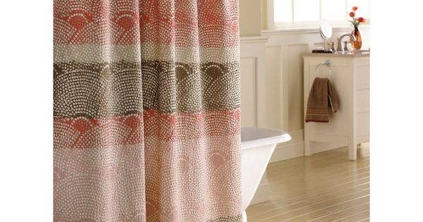 Scallops Shower Curtains And Curtains On Pinterest