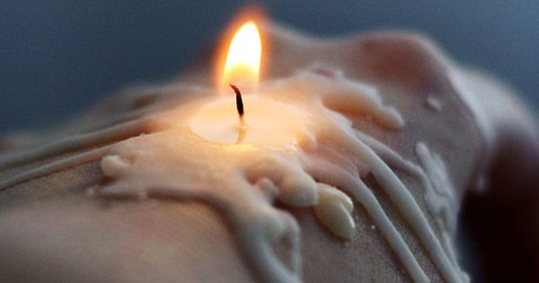 it wasn u0026 39 t that the wax had melted  it was the air around the candle that had become alive with