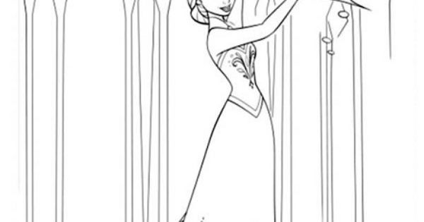 full size frozen coloring pages | Disney | Pinterest ...