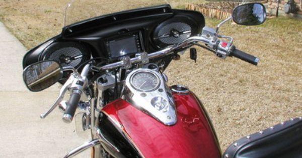 Kawasaki Vulcan 900 Custom >> Tsukayu Fairing, Hard Saddlebags and Touring Trunk ...