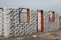 Earthbag Building Community Center In Peru Concrete Bags Earth Bag Homes Concrete
