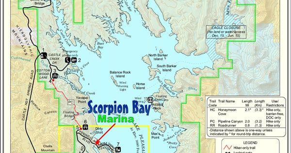 Scorpion Bay Boat Rentals on LAKE PLEASANT Peoria AZ ARIZONA Pinterest