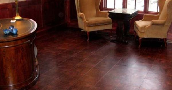 Leather Flooring Leather Wall Wall And Floor Tiles Brown Tile Floor