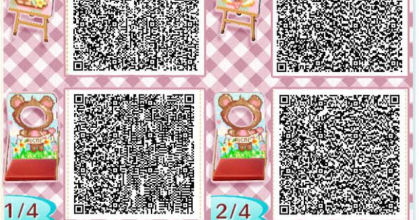 Picnic Animal Crossing New Leaf Qr Codes Signs Photo