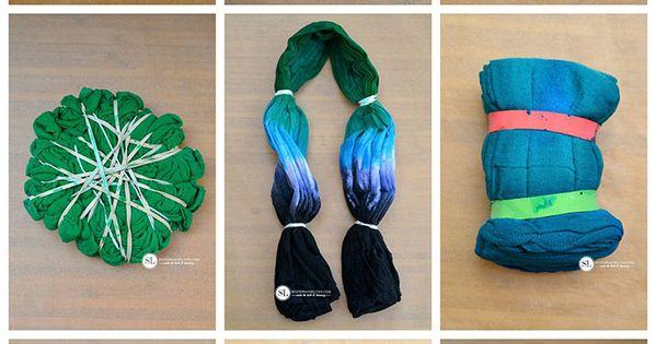 Tie Dye Folding Techniques using Tulip One-Step Tie-Dye with Stephanie Lynn
