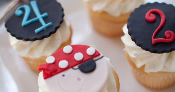 Pirate cupcakes pirate cupcakes