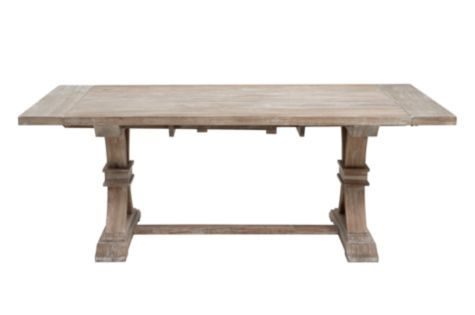Archer Dining Table from Z Gallerie If anyone knows how  : 633c2c64339313c865e1ed7783667eea from www.pinterest.com size 600 x 315 jpeg 10kB