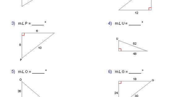 Inverse Trigonometric Ratios Worksheets Math Aids Com