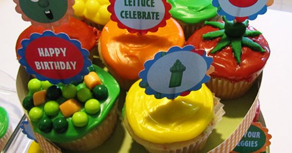 My Lil' Guy » Blog Archive » Veggie Tales 2nd Birthday