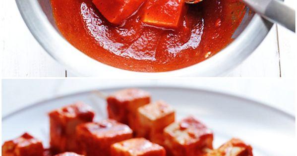 Spicy Sriracha Grilled Tofu   Recipe   Grilled tofu, Tofu ...