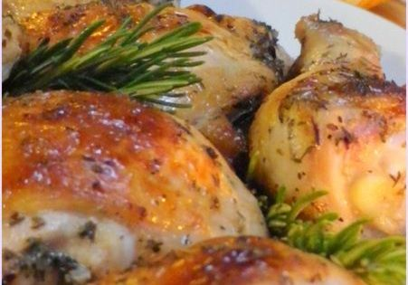 Chicken Roasted with White Wine SundaySupper | roasted chicken