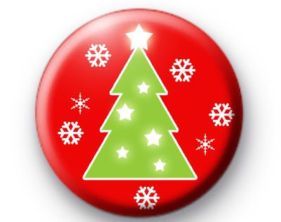 25mm Pin Button Badge Santa Claus Rudolph Xmas Cute Fun Christmas Night 1 Inch