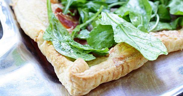 Prosciutto, Gruyere, and Arugula Tart | Cuisine | Pinterest ...