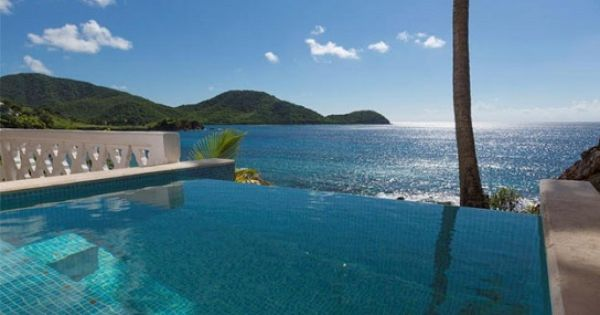 The Honeymoon Suite With Private Pool At Curtain Bluff Resort Is