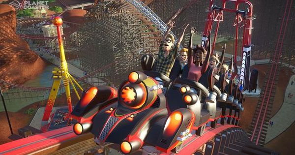 How New Sim Game Planet Coaster Perfectly Blends Aesthetics With Science And Design Paid Content By Frontier Developments Planet Coaster Sims Games Planets