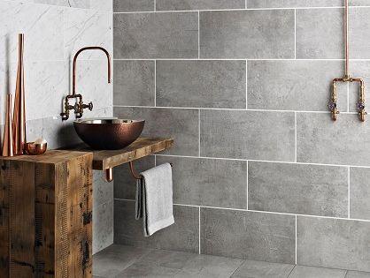Tekno Grey Wall Tiles For Kitchen Pinteres