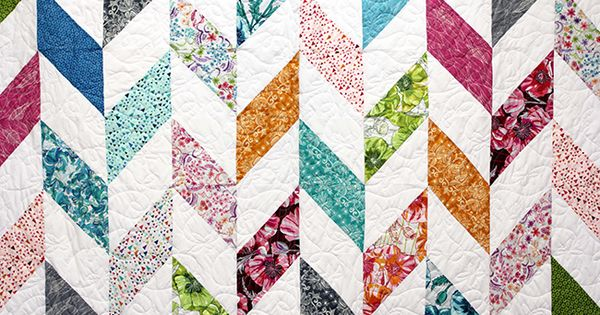 Herringbone Video Quilt Tutorial From Missouri Star Quilt