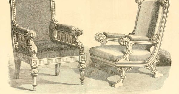 img dessins meubles mobilier fauteuil style renaissance fauteuil style dessins. Black Bedroom Furniture Sets. Home Design Ideas