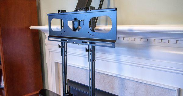 Center Speaker Bracket Dynamic Mounting Fireplace Tv