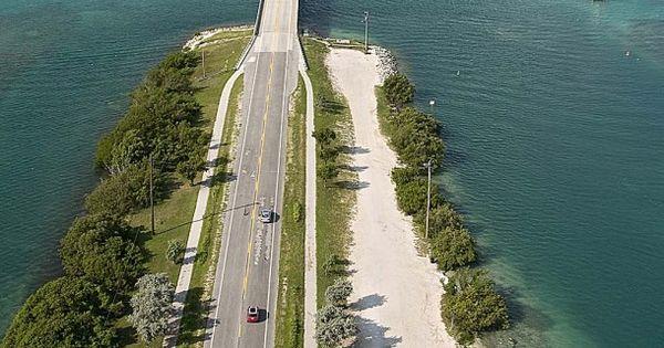 Overseas Highway in the Florida Keys - mile marker road trip guide