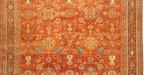 Sultanabad rug antique sultanabad carpet persian rugs 41594 for the home pinterest - Deluxe persian living room designs with artistic rug collection ...