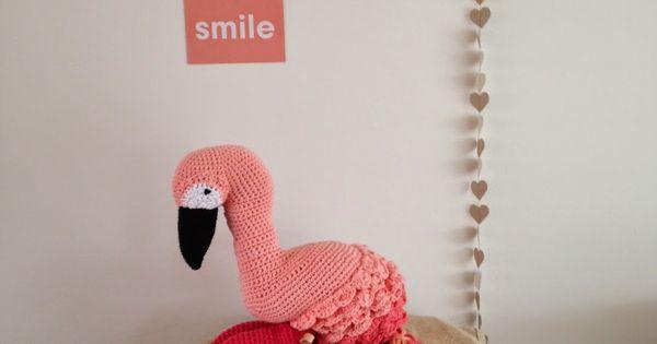 Amigurumi Flamant Rose : Lets do the flamingo! (draad en praat...) Flamingo ...