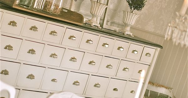 Love The Buffet So Many Drawers What Would I Put In All