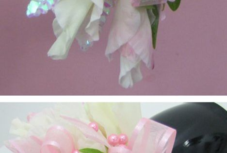 DIY bouquet - How to Make a Corsage - Free Flower Instructions