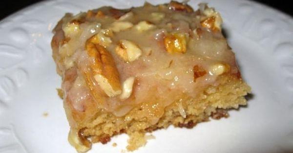 Fruit Cocktail Cake  Dessert Recipes Pinterest