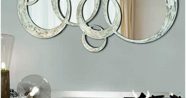 Espejos decorativos grandes de dise o italiano espejos - Recibidores de diseno italiano ...