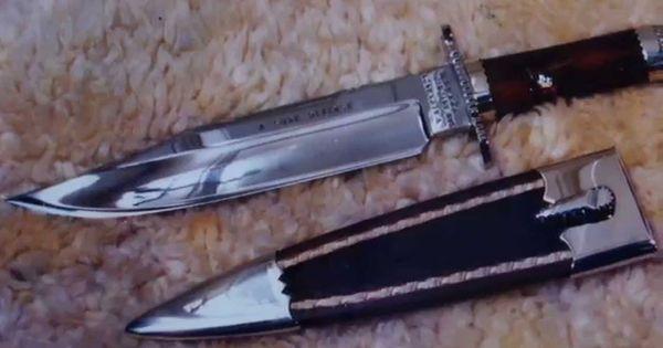 custom bowie knives maker georg wysniewski germany d ren. Black Bedroom Furniture Sets. Home Design Ideas