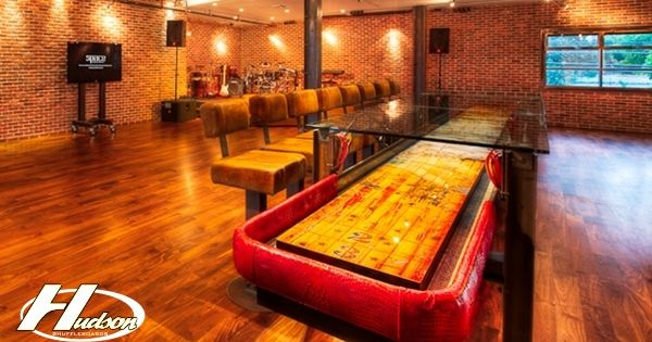 Man Cave Bars Brisbane : Amazing shuffleboard table basement pinterest
